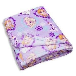 Disney Frozen Elsa Anna Olaf Ultra Soft Super Luxurious Blanket 60 X 80 In