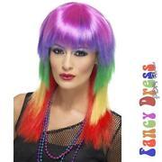 Multi Coloured Wig