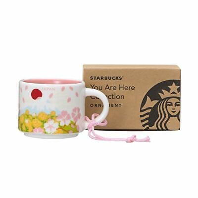 Starbucks Coffee You Are Here Japan Spring Espresso Mug Ornament New with Box