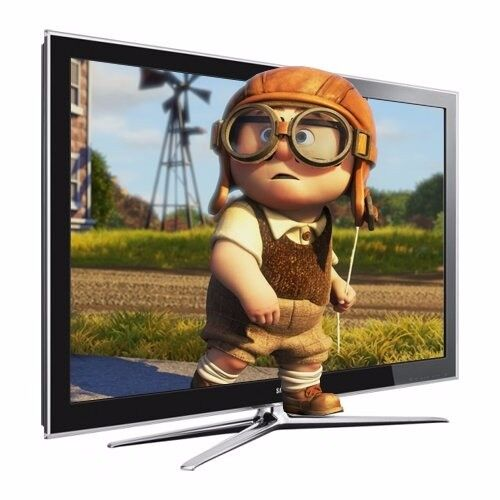 """Samsung LE46C750 46-inch 46"""" Full HD 1080p 200Hz 3D Freeview 400hz fhd lcd led TV"""