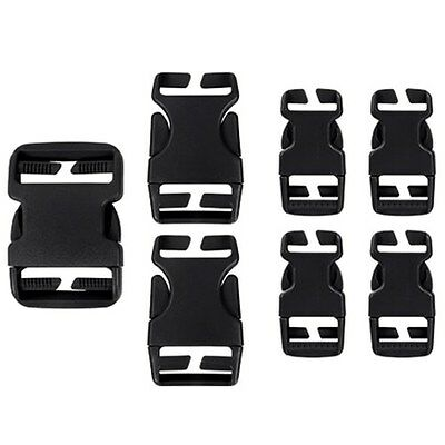 Condor Tactical Backpack & Gear Pouch Buckle Replacement & Repair Kit - Black