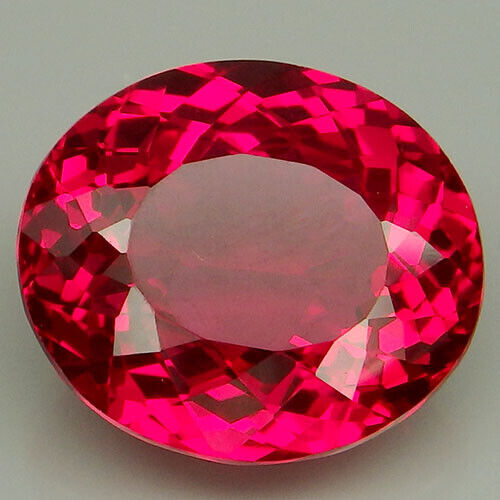 27.45CT. SMART!!!RED TOPAZ OVAL