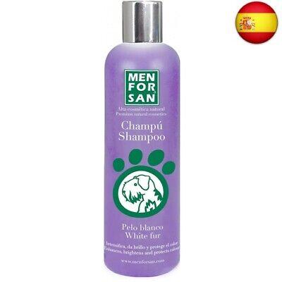 MENFORSAN champú para perros pelo blanco bote 300 ml