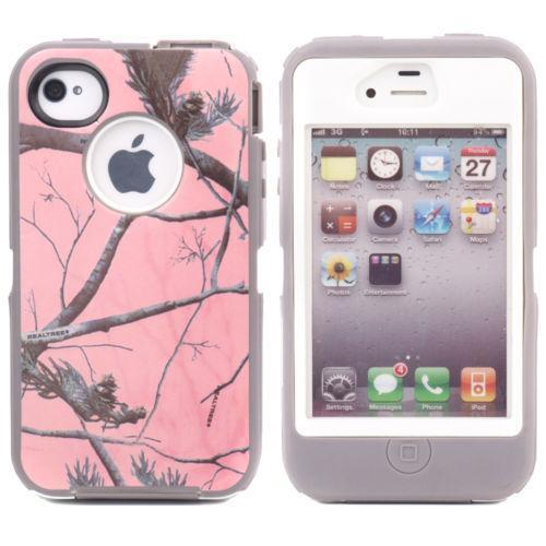 pink iphone 4 case iphone 4 otterbox defender pink camo ebay 6665