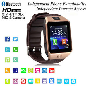 32GB TF Card,Bluetooth Smart watch GSM SIM/TF Phone For IOS And