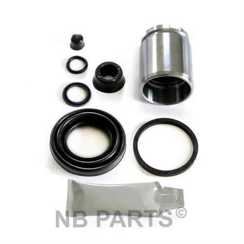 Brake Caliper Repair Kit + Piston Rear 38 mm Rep Set Sealing Set Brake Caliper