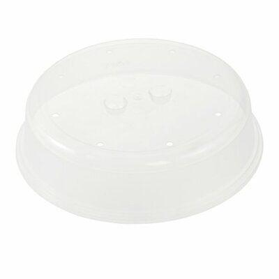 keeeper Tapa para microondas, Plástico resistente (PP) ,Ø 26,5 x 6,5 (Liso)