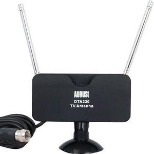 GG25 August DTA230 - Aktive DVB-T Fernseher-Antenne - mobile und feststehende - <span itemprop='availableAtOrFrom'>Drezdenko, Polska</span> - Zwroty są przyjmowane - Drezdenko, Polska