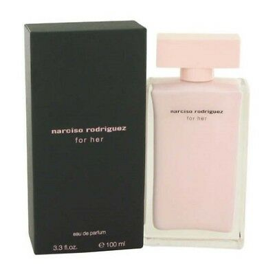 Narciso Rodriguez for Her 3.3 / 3.4 oz EDP Perfume for Women New In Box