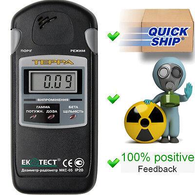 New Terra Mks 05 Ecotest Dosimeterradiometergeiger Counterradiation Detector