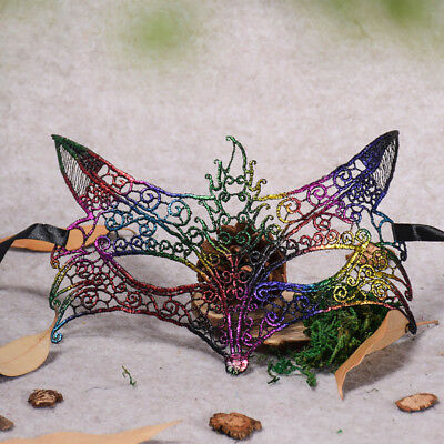 Masquerade Lace Mask Catwoman Halloween Cutout Prom Party Mask Accessories Mask - Lace Catwoman Mask
