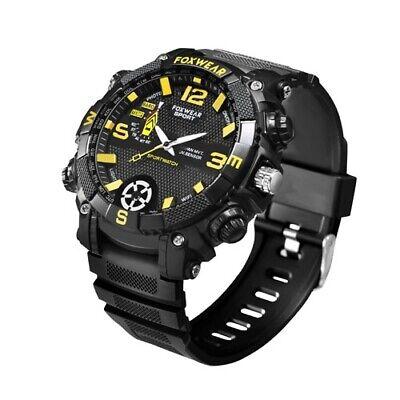 Spy Aufnahme Armbanduhr (SpyCam Armbanduhr Kamera Video Aufnahme Geheim Agent versteckte Cam Voice A68)