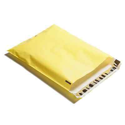 100 10x13 Yellow Poly Mailers Shipping Envelopes Couture Boutique Bags