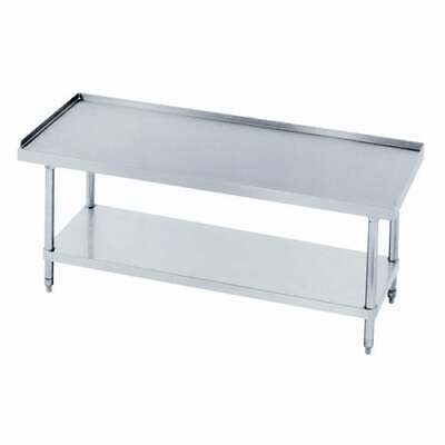 Equipment Stand With Stainless Steel Shelf 60x30