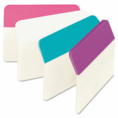 Post-it Tabs 2 Angled Tabs 15-cut Tabs Assorted Pastels 2 Wide 24pack