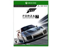 Forza Motorsport 7 Xbox One - Excellent Condition