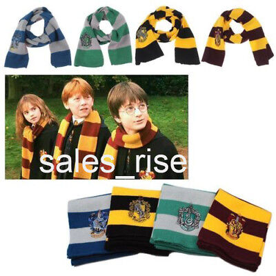 Harry Potter Hat (Harry Potter Cosplay Scarf Hat Tie Gryffindor Slytherin Hufflepuff Ravenclaw)