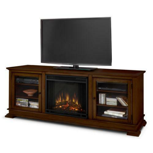electric fireplace entertainment center ebay