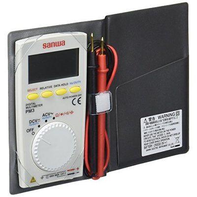 Sanwa Pocket Size Digital Multimeter Pm3 Htf Best Deal Japan New.