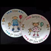 Personalised Christening Plates
