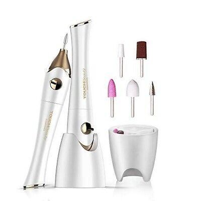 TOUCHBeauty Kit de Manicura y Pedicura Eléctrico Profesional, Set de manicura/pe