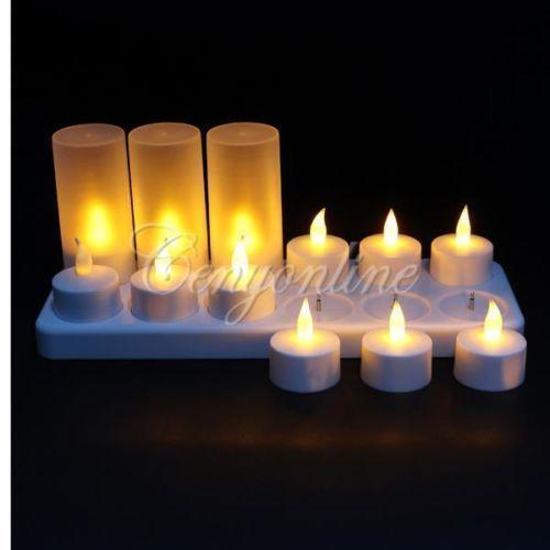 Christmas Flameless Candles Ebay