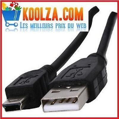 CORDON CABLE USB 2.0 type A male vers mini B male Appareils...