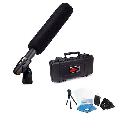 Aputure Deity Super Cardioid Condenser Shotgun Video Microphone with Windscreen+