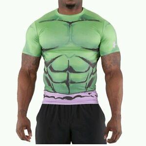 New men 039 s under armour heatgear hulk alter ego for Hulk under armour compression shirt