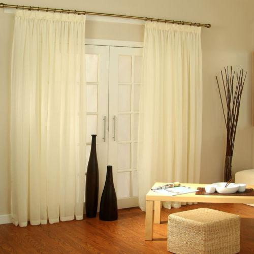 Extra Wide Voile Panels Ebay