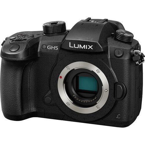 Panasonic LUMIX DC-GH5 4K VIDEO/6K PHOTO Digital Camera - (Body Only) NEW!