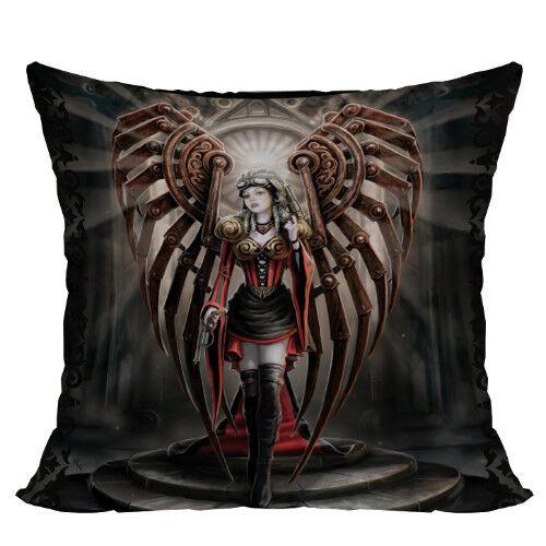 AVENGER Steampunk Angel Decorative Throw Pillow Cushion steam punk Anne Stokes