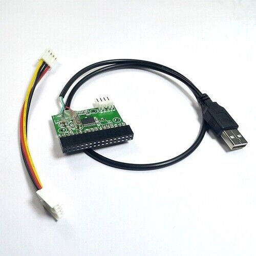 """как выглядит USB Cable To 3.5"""" 34pin Floppy Interface Driver Adapter Converter PCB Board фото"""