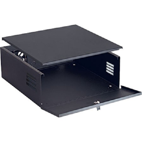 VIDEO MOUNT PRODUCTS DVR lock box with lock and fan, DVR-LB1