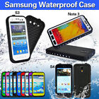 Leather Waterproof Mobile Phone Cases, Covers & Skins for Samsung Galaxy S4