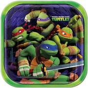 Teenage Mutant Ninja Turtles Plates
