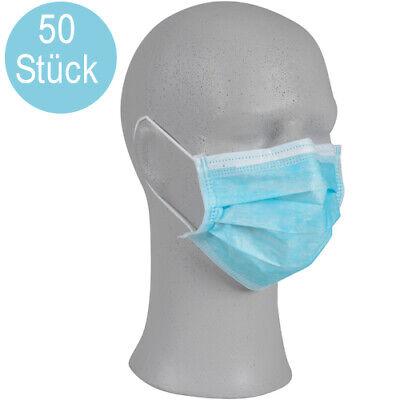 50 x medizinischer Mundschutz OP Maske Typ II R, 3-lag. CE zertifiziert