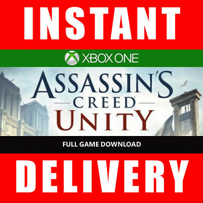 Assassins Creed Unity Xbox One (Full Game) - Instant Dispatch 24/7
