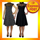 Rockabilly Party/Cocktail Polka Dot Dresses for Women