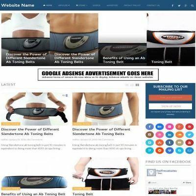 Sports Technology Store - Make Money Affiliate Website Business For Sale Host
