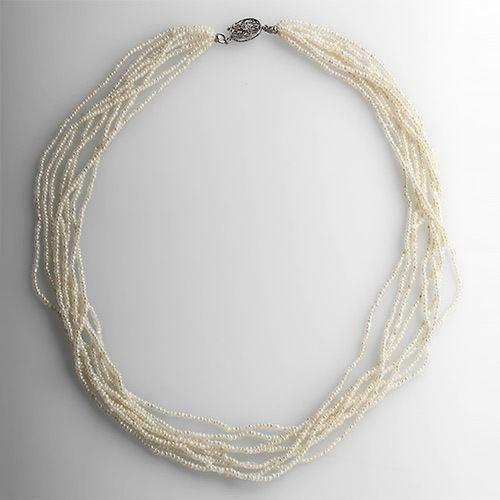 Antique Seed Pearl Necklace Ebay