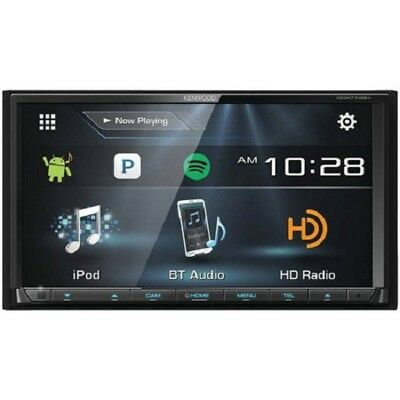 "NEW Kenwood DDX774BH Double DIN Stereo Bluetooth HD Radio w/ 6.95"" Display"