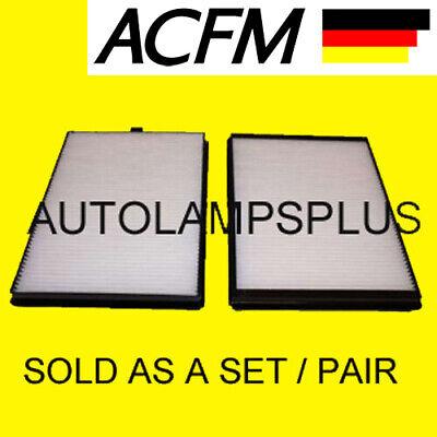 BMW E39 ACFM Cabin Air Filter 525i 528i 530i 540i M5 SEDAN TOURING SET NEW
