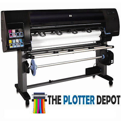 """HP DESIGNJET Z6100PS 60"""" WIDE FORMAT PRINTER PLOTTER RECONDITIONED 90 DAY WARRAN"""