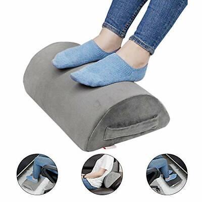 Ergonomic Foot Rest Under Desk Cushion Pillow Non Slip Home Office Leg Support