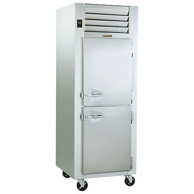 Traulsen G10002p Hinged Right 1 Section Pass-thru Dealers Choice Refrigerator