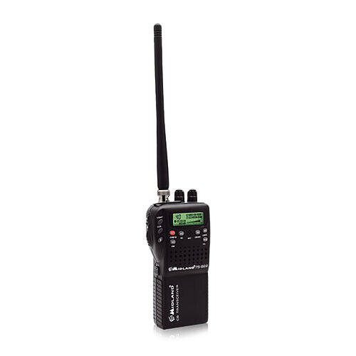 Midland Authoized Reseller 75-822 40-Channels 4W Handheld CB / Weather Radio