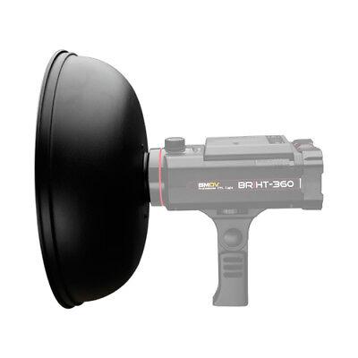 SMDV BRiHT BR-300W Beauty Dish White Reflector Flash Lamp Light Camera Diffuser