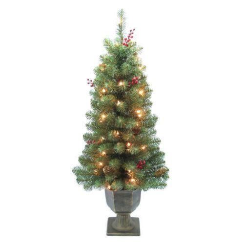 pre decorated christmas tree ebay