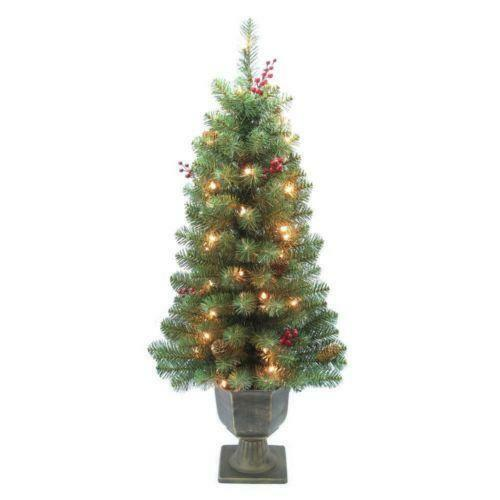 pre decorated christmas tree ebay - Pre Lit And Decorated Christmas Trees